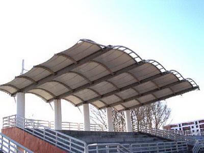 校园大型膜结构看台报价