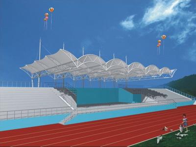 学校体育设施膜结构加工