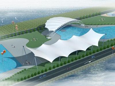游泳池膜结构设计,安装,施工一体化服务企业