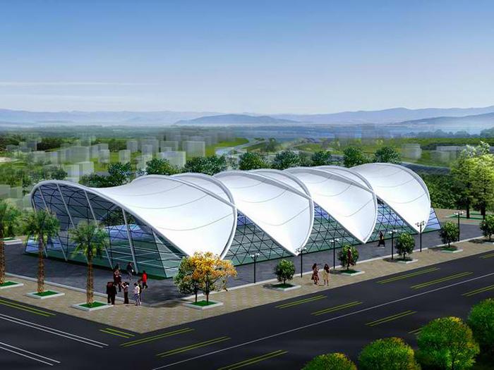 排球场膜结构设计施工单位,排球场膜结构价格