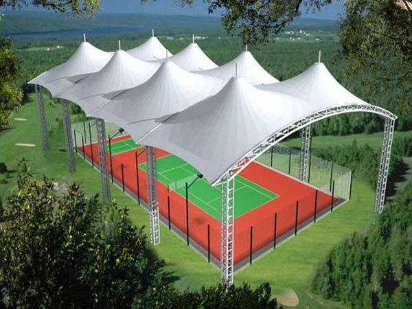 网球场膜结构,乒乓球膜结构设计,安装,施工一体化服务企业